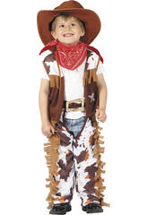 Disfraz Vaquero para Bebé Talla S