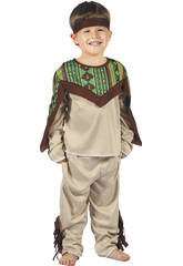 Disfraz Indio Bebé Talla S