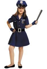 Disfraz Niña S Policía