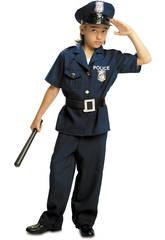 Déguisement Garçon L Policier