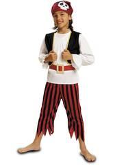 Déguisement Garçon M Pirate Tête de Mort