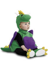 Costume Bebè M Dinosauro Verde