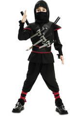 Disfarce Menino XL Ninja Killer Preto