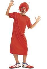 Déguisement Homme L Clown Rouge