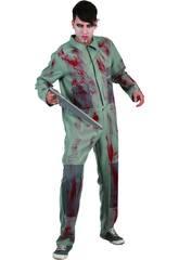 Kostüm Mörderischer Psychopath Mann Größe XL