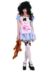 Disfraz Chica Zombi de Mujer Talla L