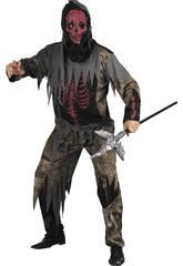 Disfraz monstruo esqueleto hombre Talla L