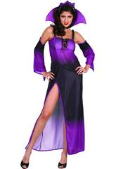 Kostüm Böse Königin Lila Frau Größe L