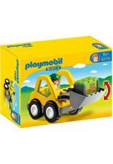Playmobil 1.2.3. Ruspa con Escavatore