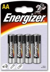 Blister 4 pile R-6/AA Alcaline Energizer