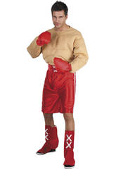 Déguisement boxeur muscles homme taille XL