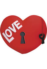 Corazón 32 cm. Love Tira Terciopelo