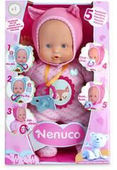 Nenuco Soft Toy 5 Funktionen Rosa 28x16cm Famosa 700014781