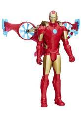 Avengers Titan Hero con Vehículo. Hasbro B5776EU4