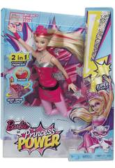 Barbie Super- Princesse 2 en 1