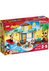 Lego Set Costruzioni Duplo Topolino La Casa sulla Spiaggia di Topolino e i Suoi Amici