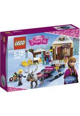 LEGO Princess Le Traîneau d'Anna et Kristoff