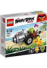 Lego Angry Birds L'évasion Du Cochon En  Voiture