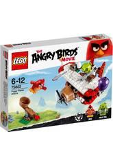 Lego Angry Birds L'attaque des Cochons en Avion