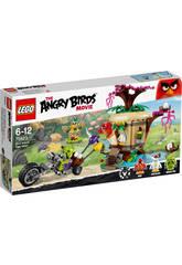 Lego Angry Birds Asalto a La Isla De Los Pájaros