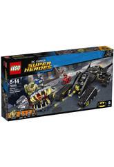 Lego SH Batman Choc dans les égouts avec Killer Croc