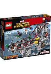 Lego SH Spiderman Combate entre Guerreros Araña