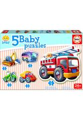 Baby Puzzle Véhicules