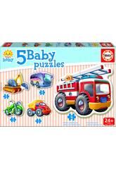 Baby Puzzle Fahrzeuge
