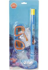Alla ricerca di  Dory Maschera subacquea con Turbo Snorkel
