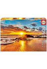Puzzle 1500 Atardecer Maui Educa 16771