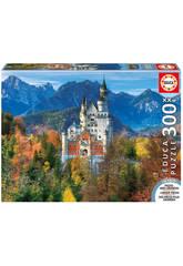 Puzzle 300 XXL Castelo de Neuschwanstein 38x28 cm EDUCA 16744