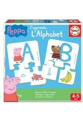 J´Apprends L´alphabet Peppa Educa 16223