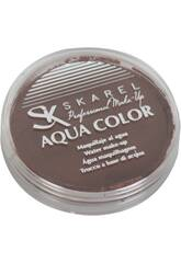 Boîte de maquillage à l'eau 12 gr. marron