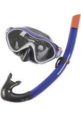 Masque de Plongée et Tube Aero Form