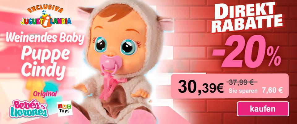 Bebés Llorones Cindy IMC
