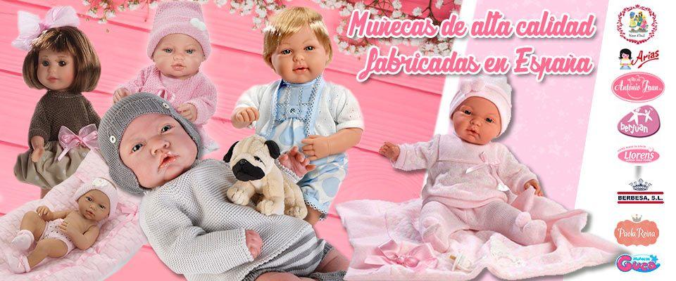 Muñecas Fabricadas en España